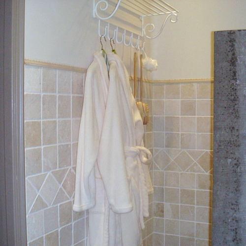 Badjassen in de badkamer van de Droomkamer