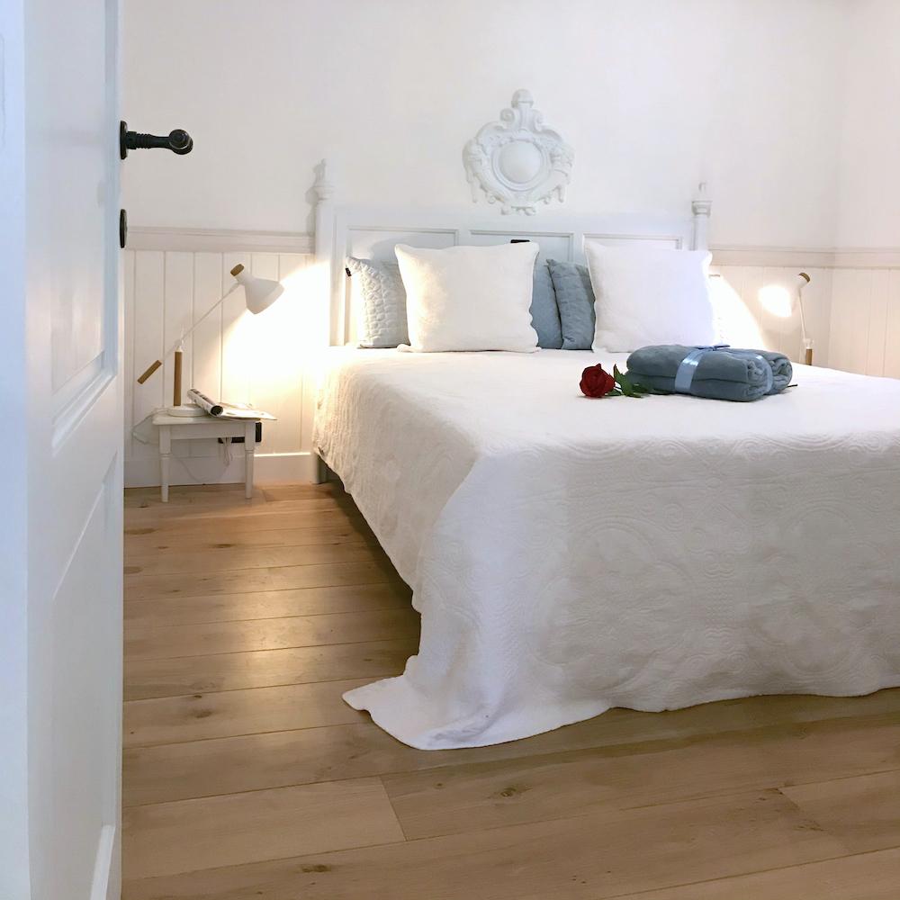 Droomhuisje romantische slaapkamer