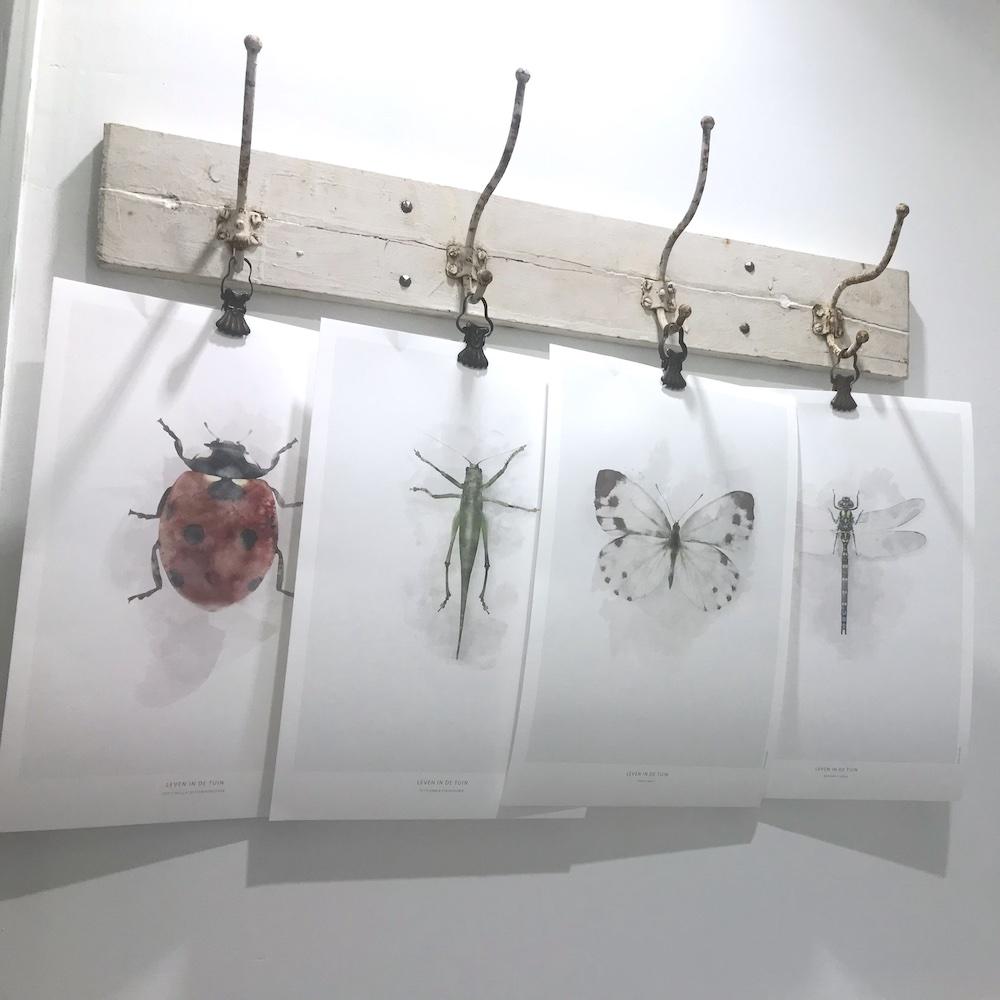 Droomhuisje decoratieve kapstok
